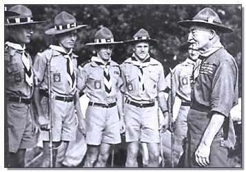 Rhodesian Scouts at a Jamboree